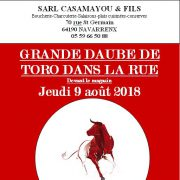 Daube de Toro 2018