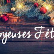 Menu des fêtes de fin d'année 2019